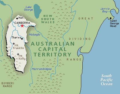 phone australian capital territory