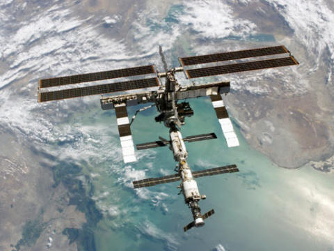 STS-114 Picture of International Space Station (NASA)