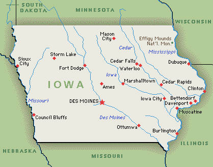 Iowa | Greenwich Mean Time
