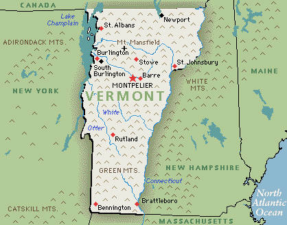 Vermont | Greenwich Mean Time